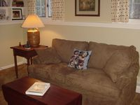 Den (full pull-out couch)